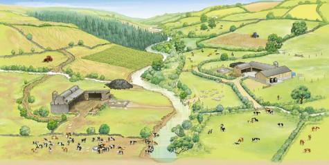 Bad Farming Practice (left) Good Farming Practice (right)