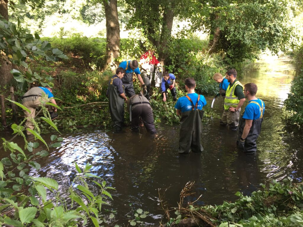 River charity near Bath